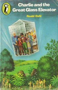 Roald Dahl - Charlie and the Great Glass Elevator (Puffin Books 1980s Childhood, My Childhood Memories, School Memories, Glass Elevator, Ladybird Books, Vintage Children's Books, Vintage Stuff, Roald Dahl, Childrens Books