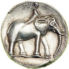 Spain, Carthago Nova. The Barcids. Time of Hannibal, ca. 221-208 BC. Silver Double Shekel (14.7g). Minted at Carthago Nova, ca. 220 BC.