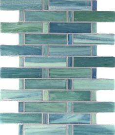 turquoise ceramic tile | Shibui Tresse / Color - Turquoise Silk
