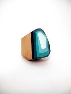 Wood Geos - Haley Ann Robinson //