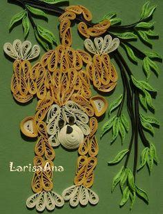 Волшебная сказка про квиллинг: Кто родился в год обезьяны?
