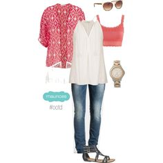 Must Have: Kimonos by maurices on Polyvore featuring Silver Jeans Co.