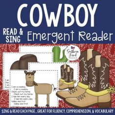 Cowboy early reader-