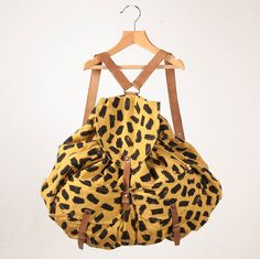 Bobo Choses Kids' Leopard Backpack #kids #accessories