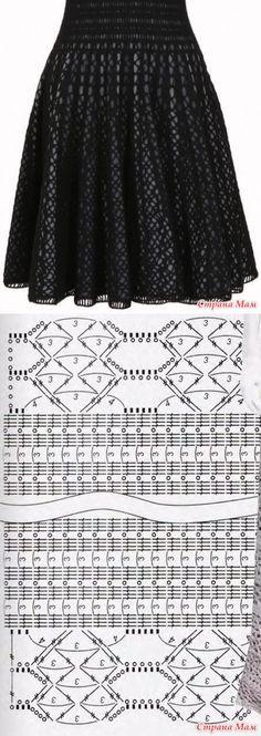 Интересное платье - Вязание  ... ♥ Deniz ♥