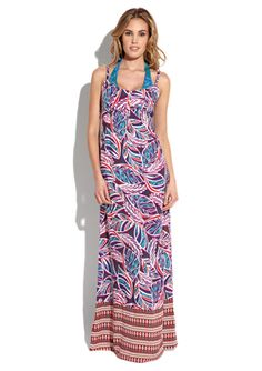 Leilani bali beach maxi dress