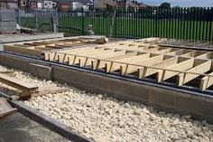 Image result for block and beam floor extension 1930s Semi Detached House, House Extension Plans, House Extensions, Beams, Floor, Image, Pavement, Boden, Flooring