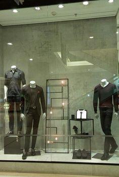 VM aramis menswear - ibirapuera shop SP - night