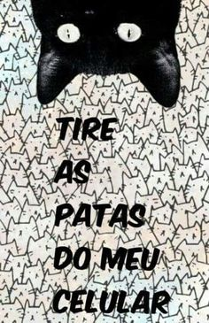 tire as patinhas imundas