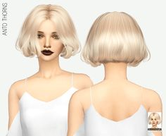 MISSPARAPLY   [TS4] ANTO THORNS: SOLIDS 64 colors Custom...