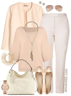 This plus size work outfit is for those rose gold lovers! When in doubt, keep things tonal by mixing pieces in the same color family. In my opinion, this is a very luxe look. Shop the look: Plus Size Jacket // Necklace // Plus Size Sweater // Bracelet {on sale} // Rose Gold Watch //… Read More