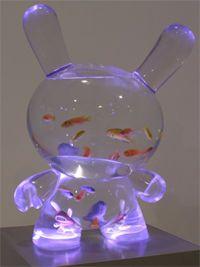 Aquarium Dunny so awesome! Cool Fish Tanks, Toy Art, Kawaii Room, Tanked Aquariums, Cute Room Decor, Aquarium Fish Tank, Aesthetic Room Decor, Room Ideas Bedroom, Vinyl Toys