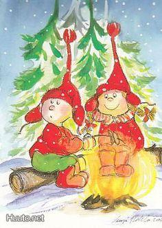 . Childrens Christmas, Vintage Christmas, Christmas Time, Christmas Cards, Christmas Ornaments, Christmas Illustration, Cute Illustration, Christmas Clipart, Whimsical Art