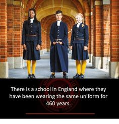 The school in England where they have been wearing the same uniform for 460 years - Gemssblog