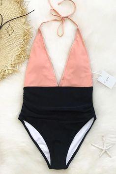 Cupshe Fragrant Memory Halter Bikini Set #style#swimsuit#womensfashion
