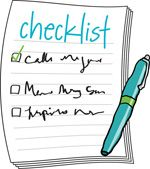January Get Organized Checklist - simple things you can do to get organized this month! **new link