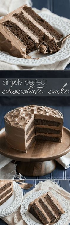 Simply Perfect Chocolate Cake - 15 Top Chocolate Cake Recipes That are Too Good for This World