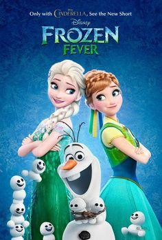 Ya salio el cortometraje de frozen fever