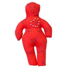 Bad Boyfriend Voodoo Doll - Whenever you feel your boyfriend is taking you for granted, use one of the pins to put him back in line.