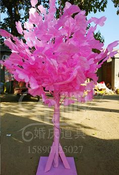 tree prop - Google Search 3d Tree, Glass Vase, Google Search, Jewelry, Decor, Ideas, Party, Paper Flowers, Jewellery Making
