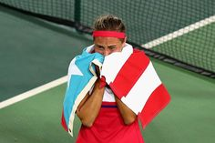 Monica Puig after Winning, PUR