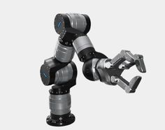 The robotic arm LWA has numerous applications in the industry of robotics: inspection systems, human-machine interaction and human-human. Mechanical Arm, Mechanical Design, Arduino, Medical Robots, Real Robots, New Technology Gadgets, Industrial Robots, Humanoid Robot, Human Human