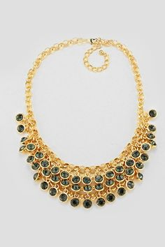 Celeste Necklace in Black Diamond on Emma Stine Limited