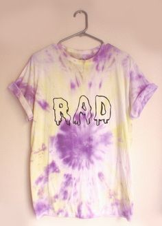 Tie And Dye Tee 'Rad'