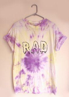 Tie And Dye Tee 'Rad'
