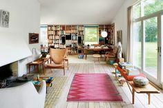 Finding Finn Juhl's genius in his home outside Copenhagen..