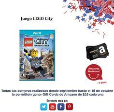 ¿Que te parece adquirir este juego de Lego City para tu Wii U?   http://amzn.com/B002I0K3PM
