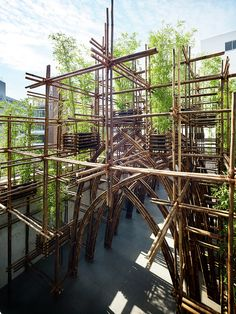 Gallery - Bamboo Forest / Vo Trong Nghia Architects - 1
