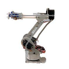 6-Axis Desktop Robotic Arm, Assembled