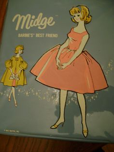 vintage 1963 MIDGE CASE excellent condition by returntothepast