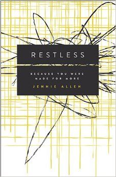 Restless by Jennie Allen. This is a game changer if you feel like there's something more you're meant to be doing with your life. http://www.amazon.com/gp/product/0849947065/ref=as_li_qf_sp_asin_il_tl?ie=UTF8&camp=1789&creative=9325&creativeASIN=0849947065&linkCode=as2&tag=thesinwom08-20
