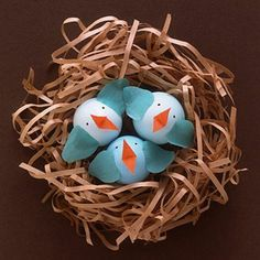 mommo design: EASTER ANIMAL EGGS