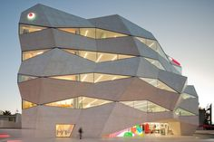 Vodafone's new headquarters, Porto, Portugal, by Barbosa e Guimaraes Arquitectos