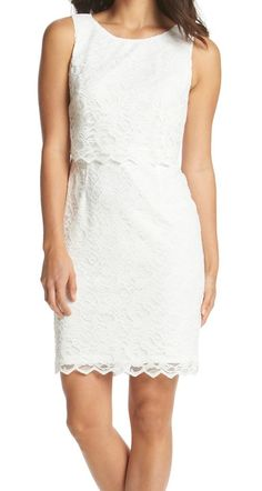 This Ivanka Trump lace number is perfect for the rehearsal dinner.