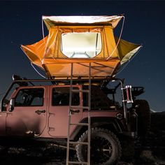 Smittybilt 2783 Overlander Roof Top Tent - Rock Solid Off-Road - 6