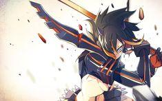 Great anime wallpaper from Kill la Kill uploaded by - Matoi Ryuuko Unleashed Manga Art, Anime Manga, Anime Art, Kill La Kill, Moe Anime, Kawaii Anime, Hd Anime Wallpapers, Hd Backgrounds, Dark Anime