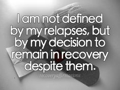 Recovery Affirmations