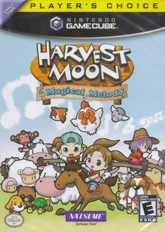 Harvest Moon: Magical Melody -One of my favorites! I love the game play mechanic!