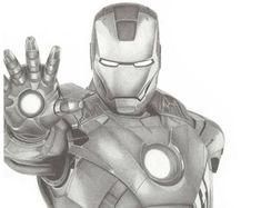 Iron Man Portrait Print