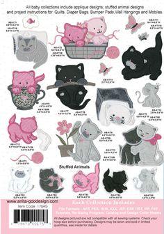 Anita Goodesign | Baby Kittens - Anita Goodesign