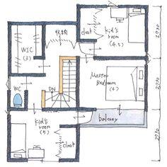 . 【ボツプラン267】 玄関やDKに収納がたっぷり確保されていて、片付きそうですね。 基本的な部屋のとり方や窓の配置は、こんな感じで良いと思います。 冷蔵庫の位置は家族が使う時邪魔になるかもしれないけど、LDから見えにくい場所なのでスッキリ見えますね。 . . #collabohouse #コラボハウス #間取り #間取り図 #設計図 #設計士 #設計士とつくる家 #住宅 #住宅設計 #自由設計 #住宅間取り #住宅外観 #住宅デザイン #デザイン住宅 #注文住宅 #新築 #新築一戸建て #インテリア #家づくり #myhome #マイホーム #ボツプラン Kids Room, Floor Plans, Nice, Instagram, Room Kids, Kids Rooms, Floor Plan Drawing, House Floor Plans, Kidsroom