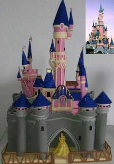Paper quilling idea for kids Diy Projects For Kids, Diy For Kids, Crafts For Kids, Disney Castle Outline, Cinderella Crafts, Castle Project, Toy Castle, Knight Party, Diy Y Manualidades