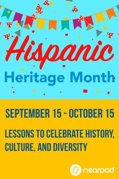 Celebrate Student Diversity In Your Classroom These Technology The Ideas Cover Hispanic Heritage