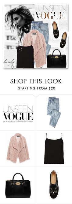 """unseen.1."" by chelseaco ❤ liked on Polyvore featuring Wrap, Zara, Mulberry and Charlotte Olympia"