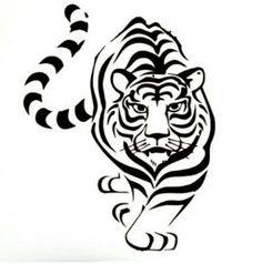 Beautiful Tiger decal