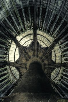 Abandoned cooling tower. Photo by Aurélien Villette via Flickr.